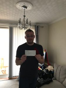Kian's wishes cheque