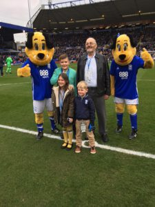 Mascots, Ray, Ollie,Ellie and Huey